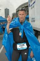Finisher-Photo . in der Auslaufzone